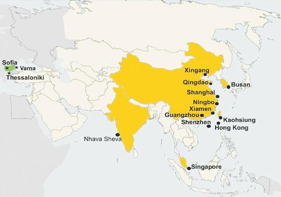 Оптималното транспортно решение за Вашия товар – директни групажни линии от Азия до България