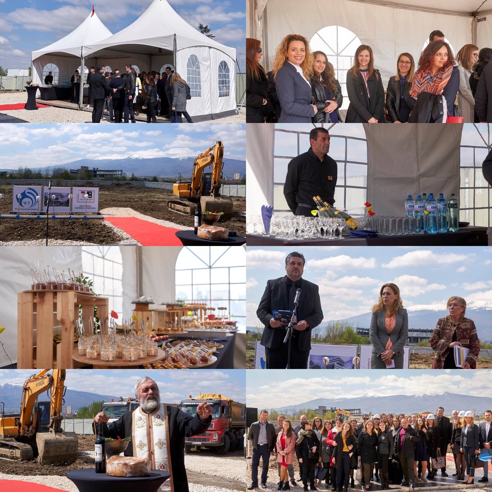 Първа копка на модерен логистичен център на World Transport Overseas на летище София